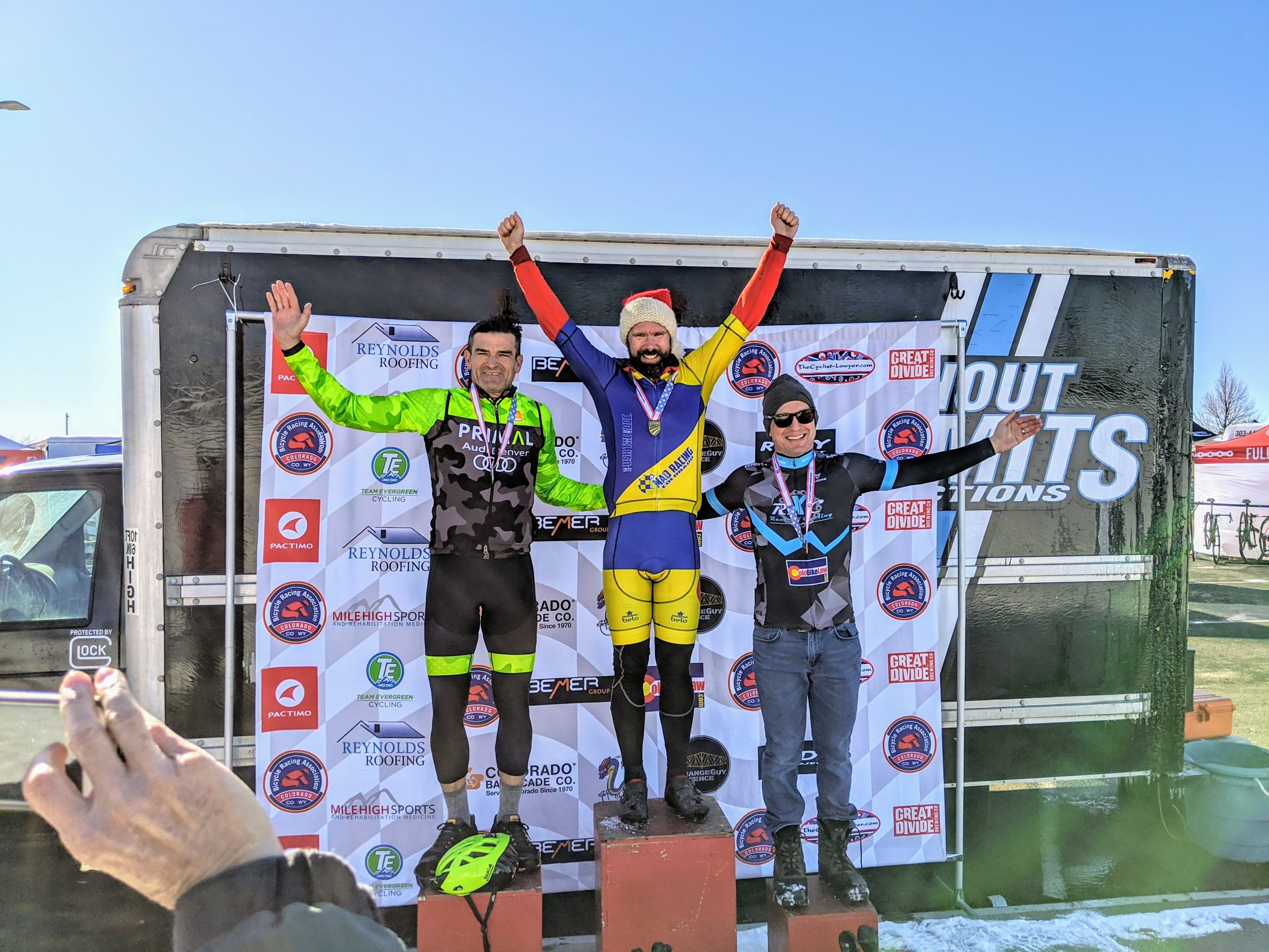 Colorado State Championship Cat 4 40+ Podium